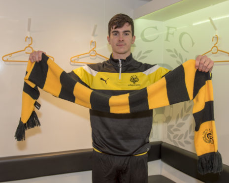 Tom MacLennan signed for Nairn County last week. Picture: Kenny Macleod.
