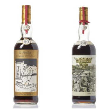 Auctioneers Bonhams say the vintage Macallan bottles have been unseen in public since they were sold over three decades ago.