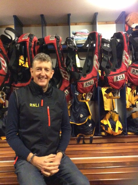 Adam James joins RNLI Aith Lifeboat Station