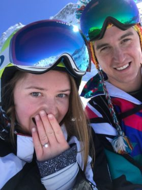 Cosmo Linzee Gordon and Bronya Woodes Roger have just announced their engagement.