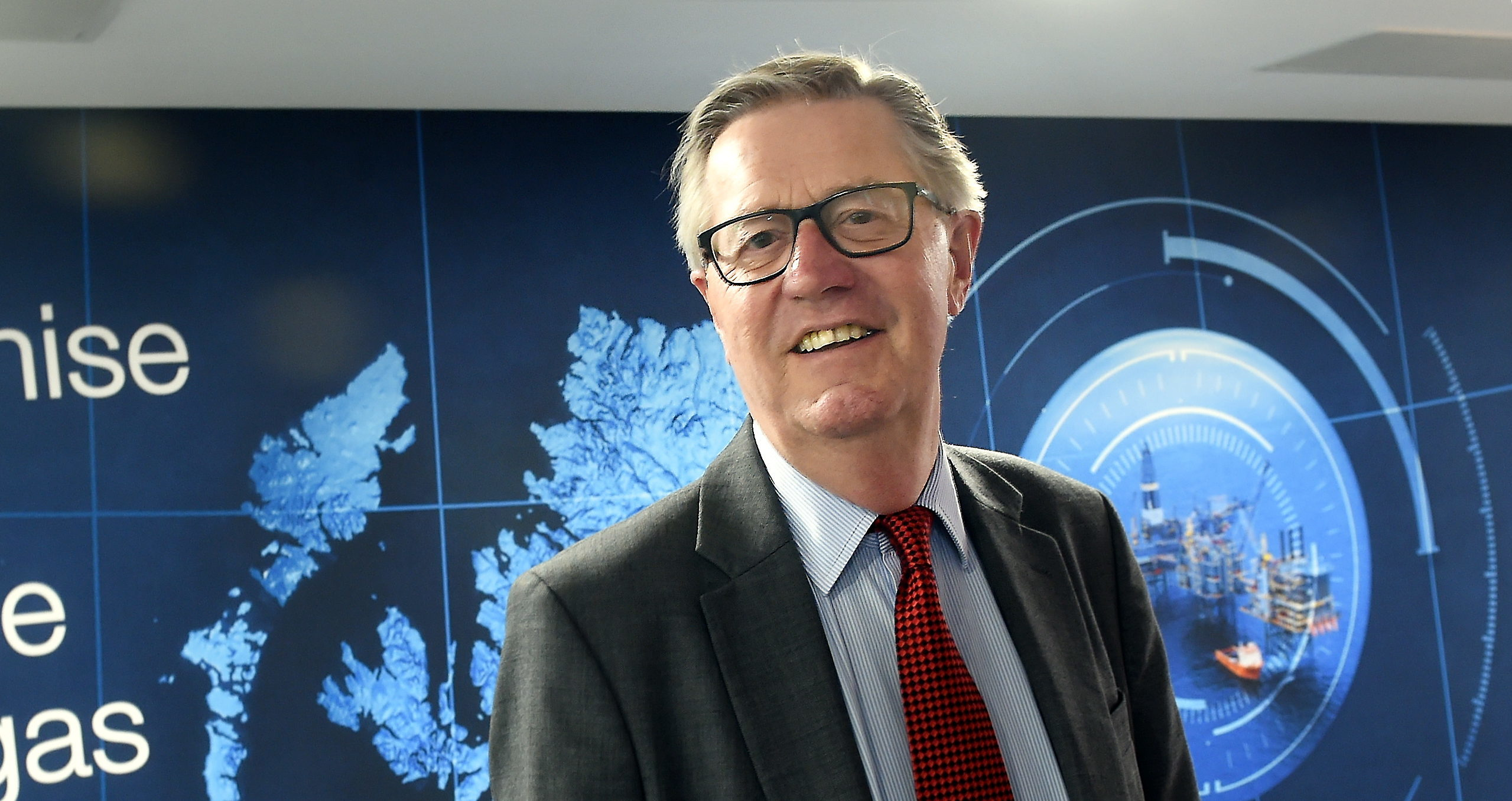 Sir Patrick Brown, retiring from the board of OGA , pictured at Oil and Gas Authority, Huntly Street, Aberdeen.
