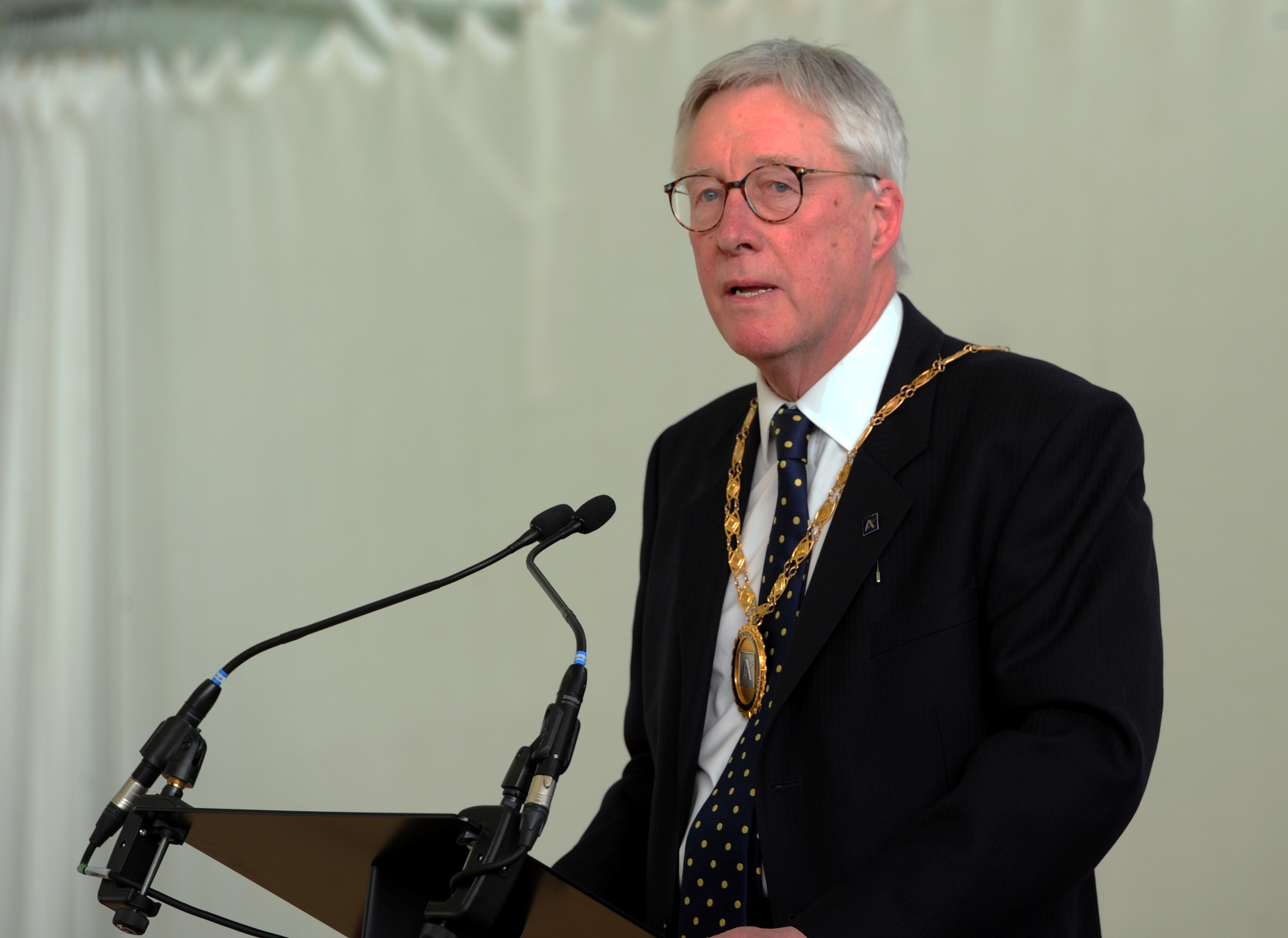 Lord provost Bill Howatson