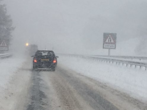 Snow set to hit Scotland this weekend.