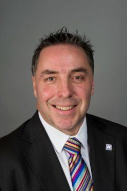 Aberdeenshire Council's infrastructure boss Stephen Archer