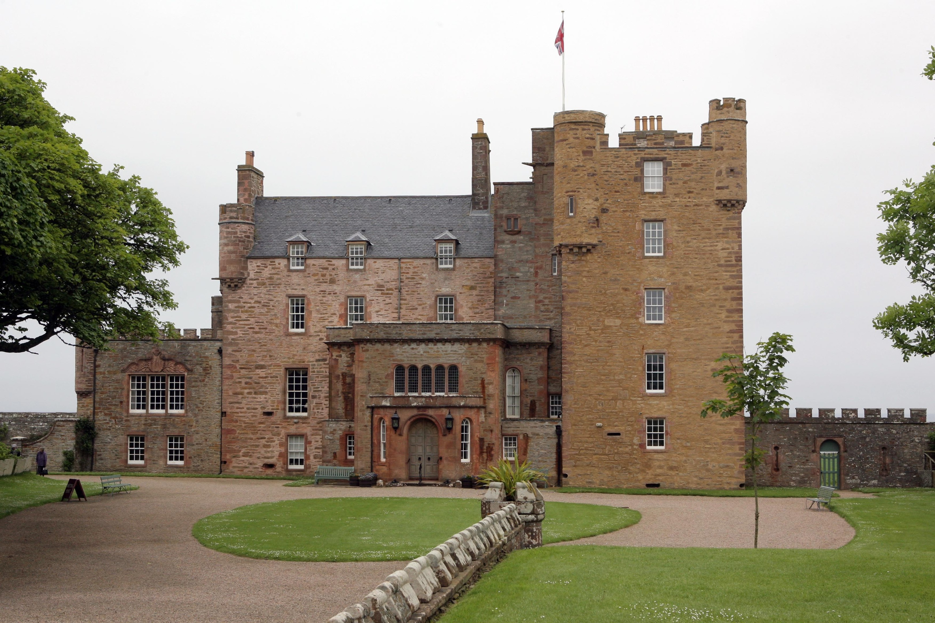 The Castle of Mey was the Queen Mother's home