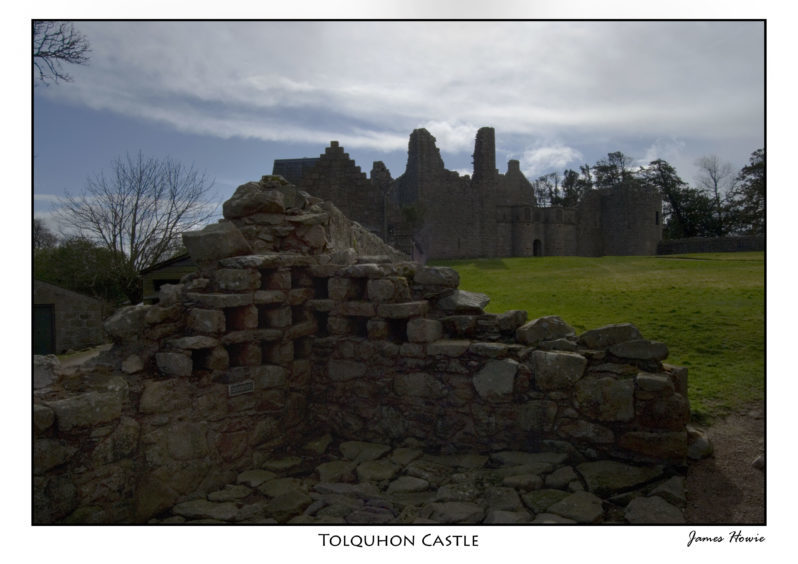 Another view of Tolquhon Castle