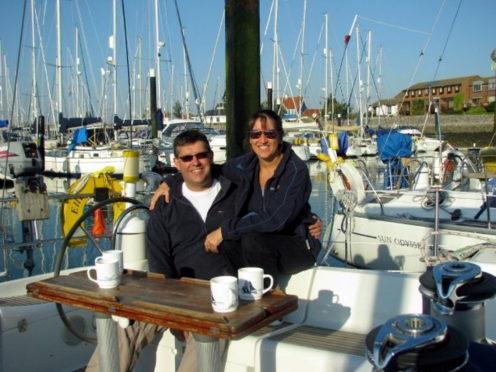 Nigel and Belinda Brown.