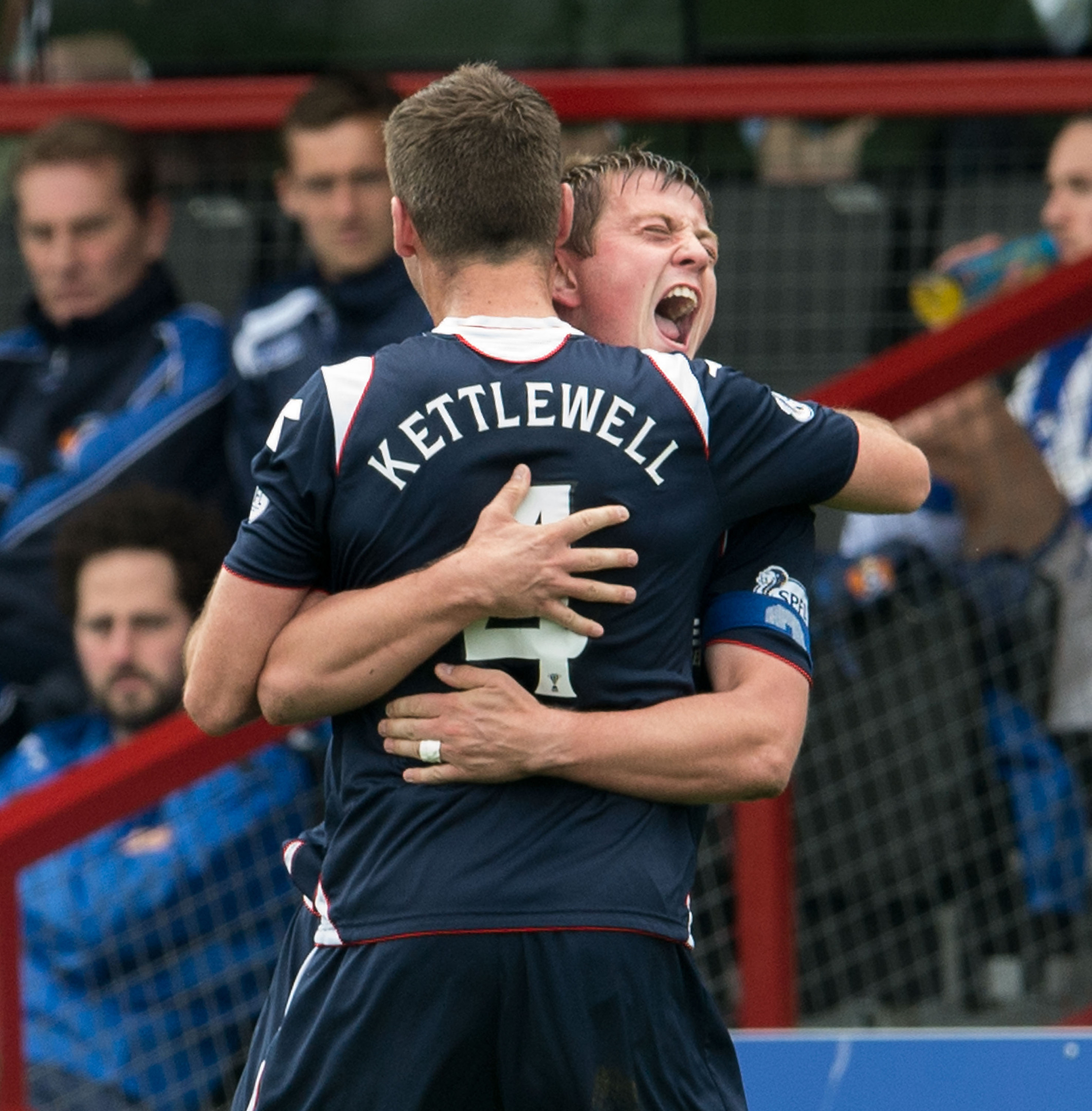 Richard Brittain and Stuart Kettlewell have fought their fair share of battles alongside each other for Ross County.