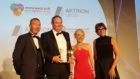 Accepting the award,Head of Operations, Guy Forester (L) and Editor in chief, Richard Neville (R).