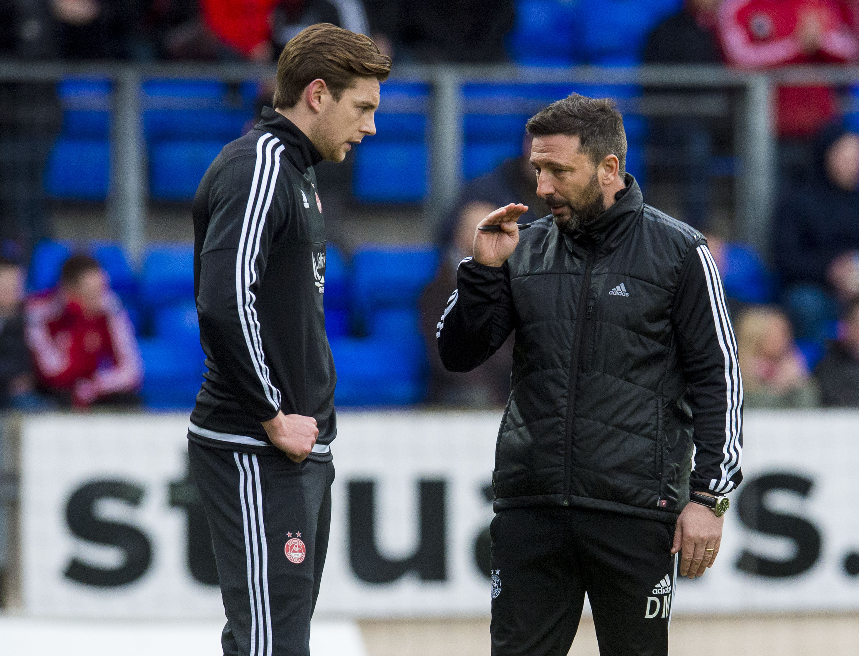 Former Dons defender Ash Taylor remembers Derek McInnes' message to the players after last year's Scottish Cup heartache.