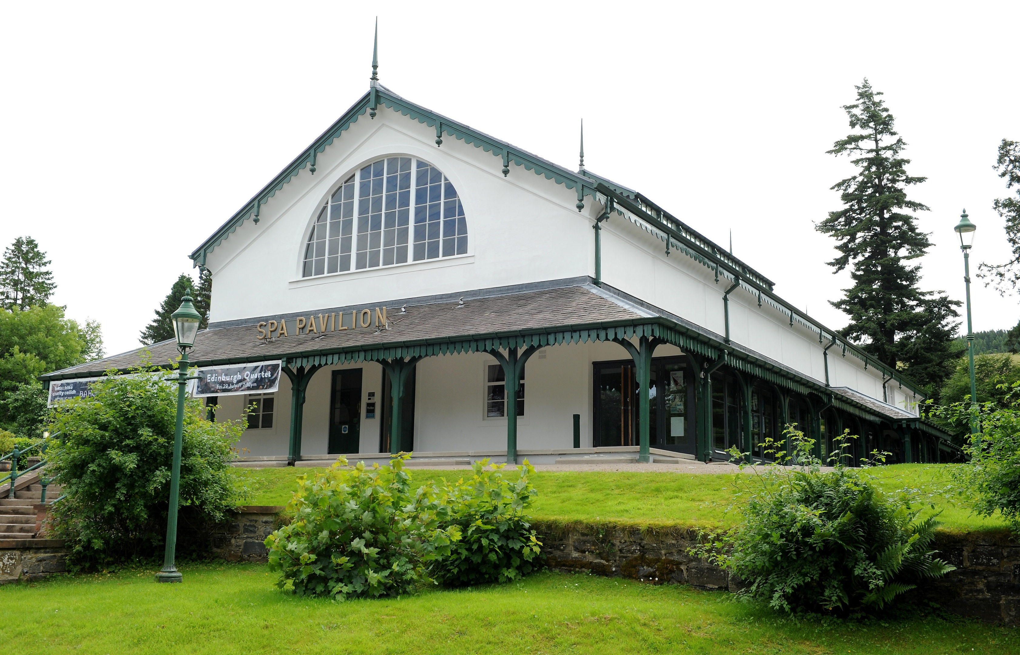 The Strathpeffer Pavilion. Picture by Sandy McCook.