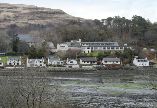 Portree Hospital, Portree. Picture by Sandy McCook.