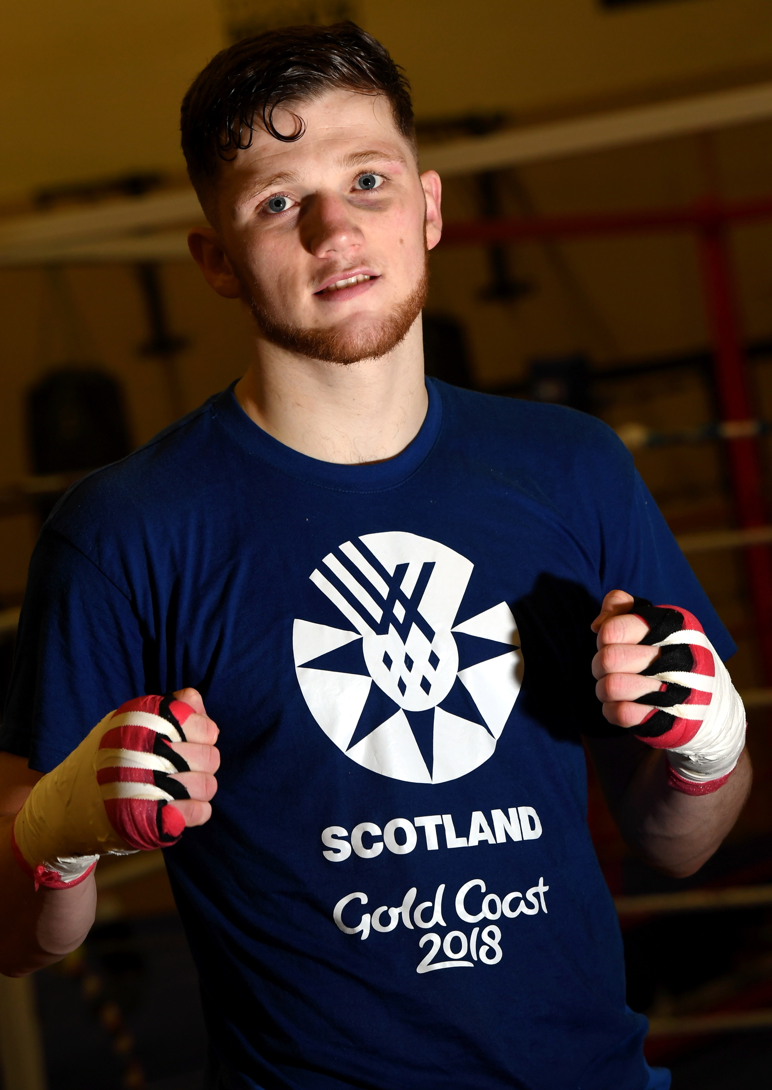 Byron Boxing's John Docherty took bronze in the 75kg division.