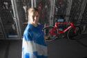 Team Scotland cyclist Neah Evans.