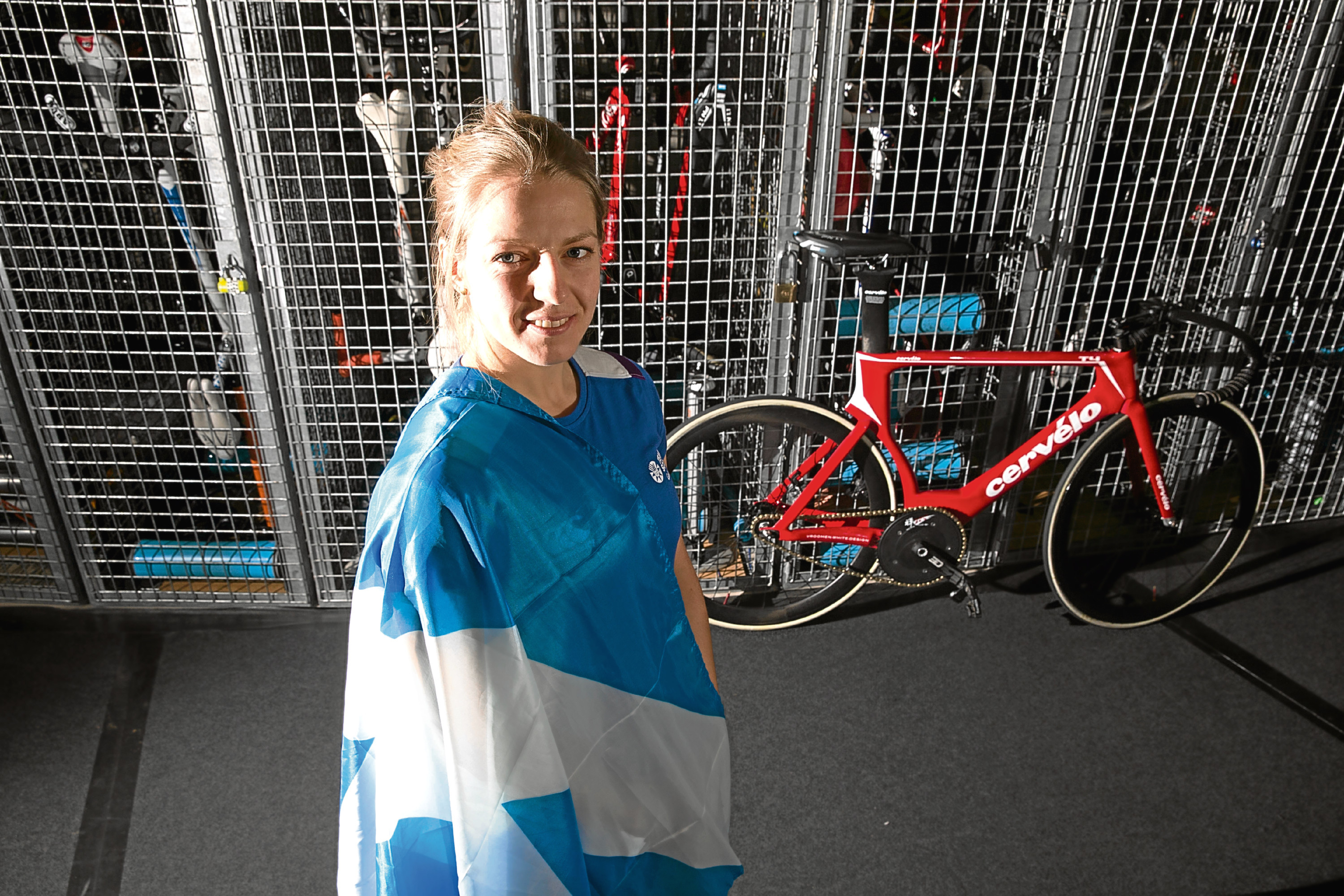 Neah Evans, Team Scotland Cycling for 2018 Commonwealth Games.