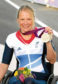 Paralypmian Karen Darke with her silver medal  SUBMITTED