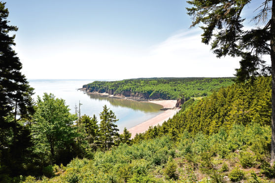 Fundy Trail Park in New Brunswick