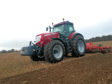 A tractor from the new range.