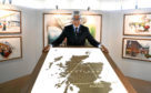 """Ivan Menezes, chief executive of Diageo at their headquarters in Edinburgh where he announced a £150 million investment over three years to """"transform"""" its Scotch whisky visitor experiences. PRESS ASSOCIATION Photo. Picture date: Monday April 16, 2018. See PA story INDUSTRY Diageo. Photo credit should read: Andrew Milligan/PA Wire"""