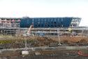 Locator of the new AECC, Bucksburn Aberdeen. Picture by Chris Sumner