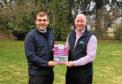 SAYFC agri and rural affairs chairman Iain Wilson and NFU Scotland vice-president Gary Mitchell