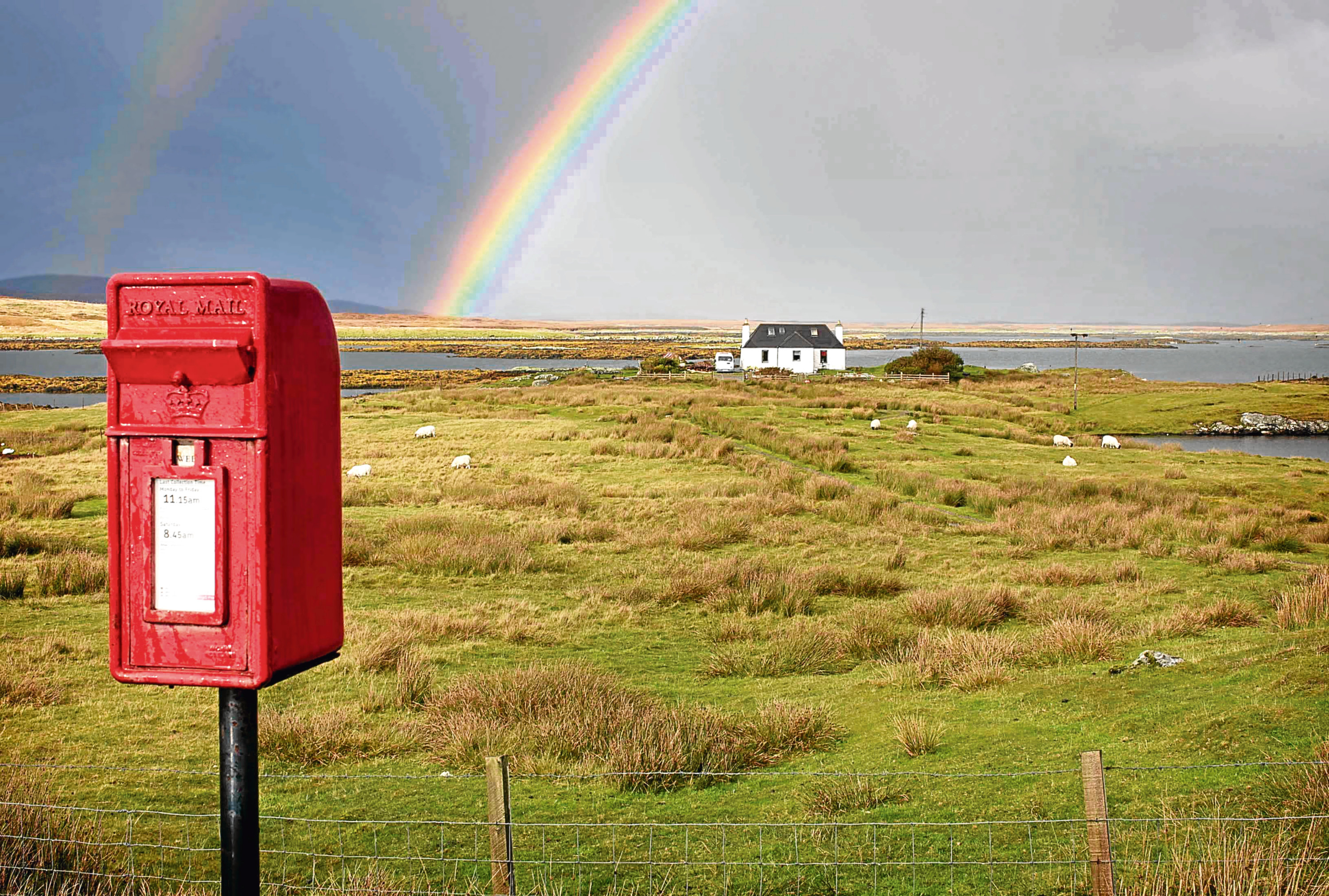 on the Island of North Uist in the Outer Hebrides