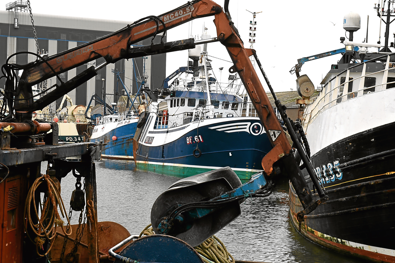 Locator of Peterhead harbour, Peterhead.   Picture by Jim Irvine  11-4-17
