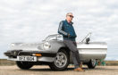Brian Watt with his 1986 Alfa Romeo Spider. Photograph by Jason Hedges