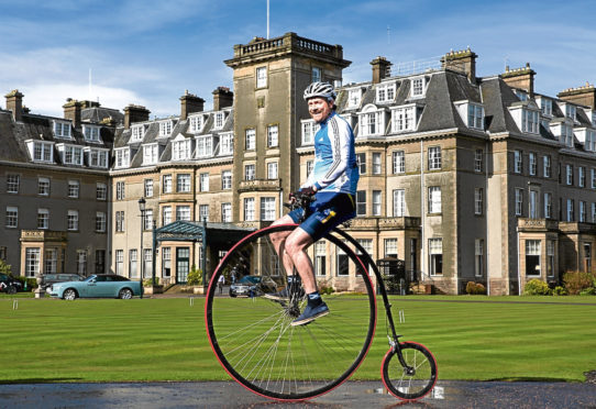 Entrepreneurial Scotland's conference at Gleneagles Hotel