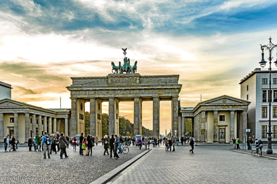Companies in the Highlands and islands are being encouraged to trade with cities in Germany, including Berlin, above
