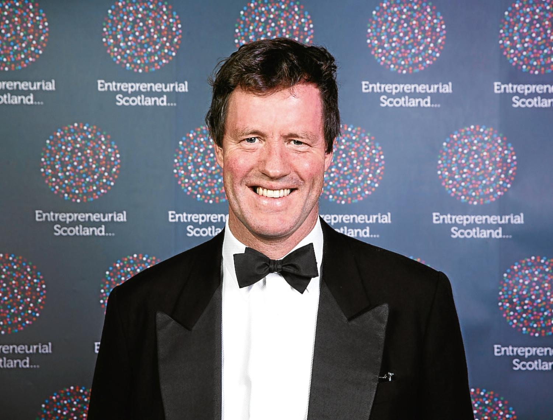 Successful businessman Angus MacDonald
