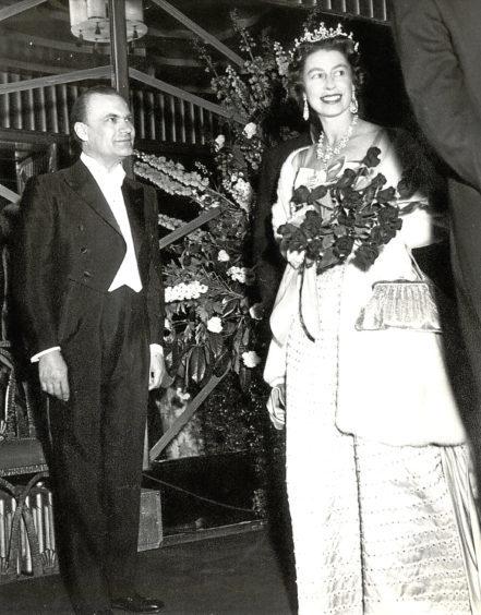 The Queen with Harold Fielding