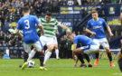 15/04/18 WILLIAM HILL SCOTTISH CUP SEMI-FINAL  CELTIC v RANGERS  HAMPDEN PARK - GLASGOW   Celtic's Tom Rogic opens the scoring to make it 1-0.