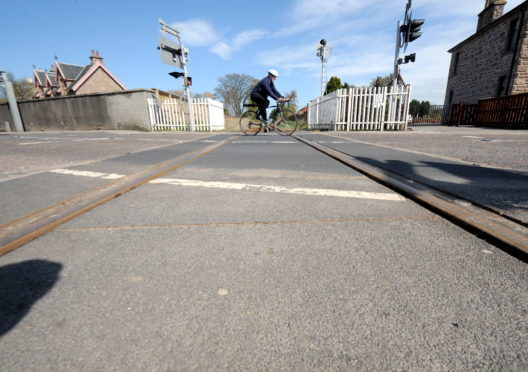 Level crossings in the Highlands.