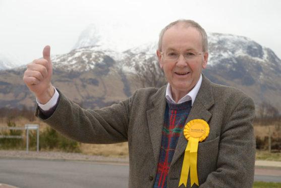 Newly elected councillor Denis Rixson.