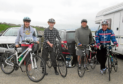 Contestants taking part in last year's Banff Cycle Challenge, which takes place again next month