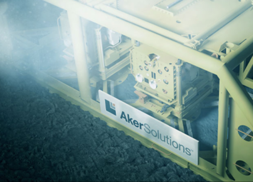 Aker subsea manifold. Photo by Aker Solutions