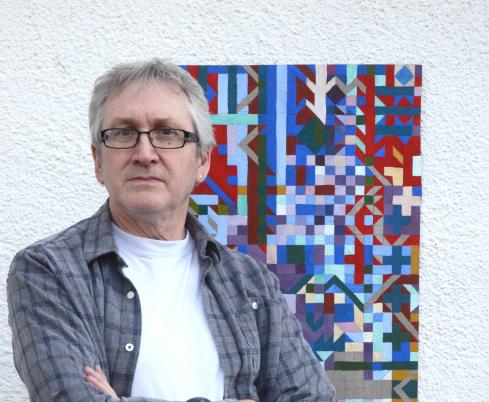 Artist Mark Lomax