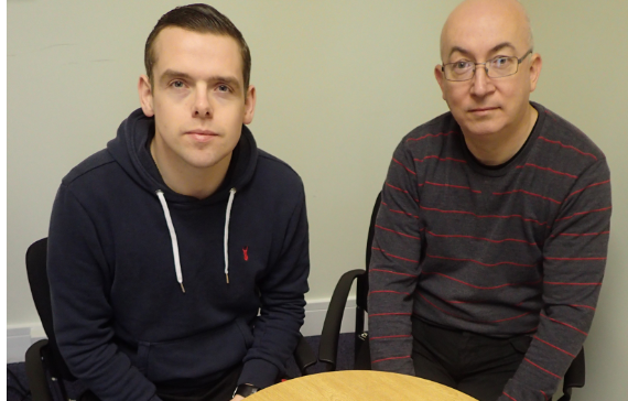 Douglas Ross, left, and Marc Macrae will continue pressing for prostate cancer screening.