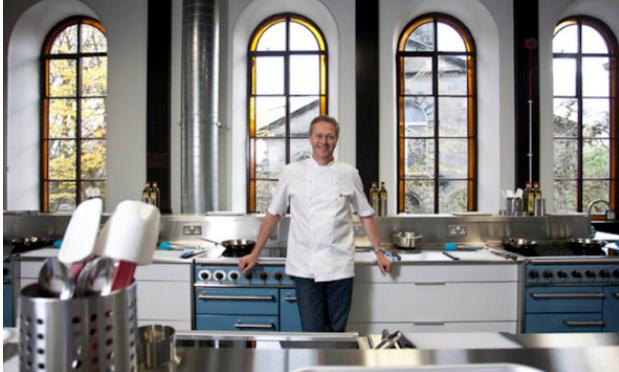 Nick Nairn in his Aberdeen Cook School