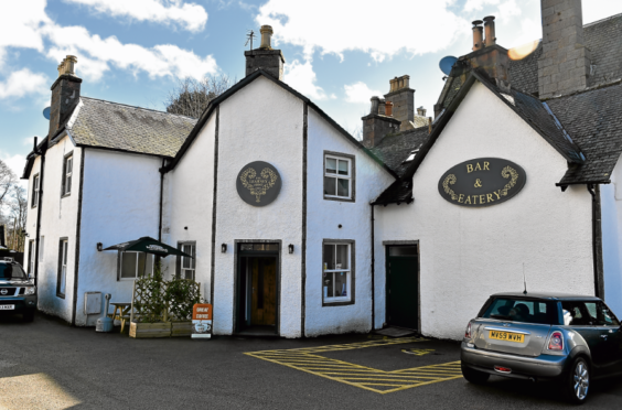 The Learney Arms in Torphins