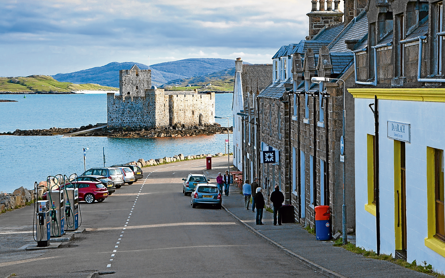Castlebay, where a mobile bank will become  operational – despite the branch getting a reprieve
