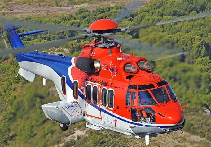 A Super Puma H225.