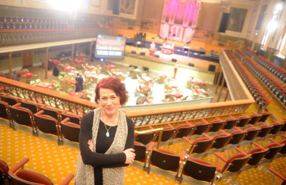 Lesley Anne Rose the Artistic Producer for Aberdeen performing arts.