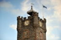 Dufftown Clock Tower.