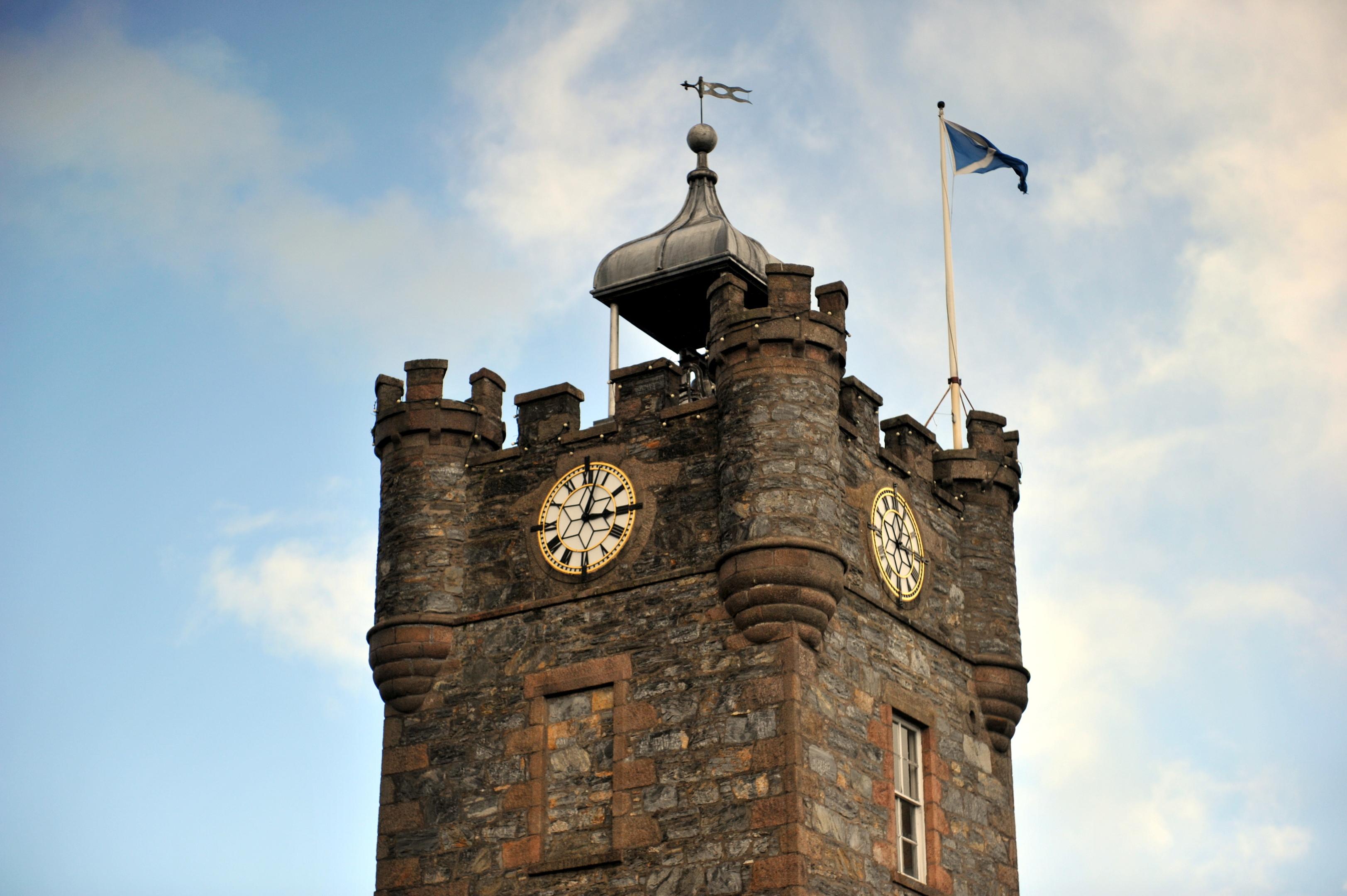 Dufftown Clock Tower.