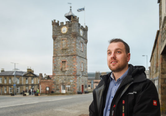 Fraser McGill, who lives in Dufftown, has hit out at EDF Energy.