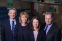 ANM Group executive team- Grant Rogerson, Avril McLeod, Nicola Brice, John Gregor