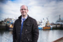 Fraserburgh Harbour chairman Michael Murray at Fraserburgh Harbour.