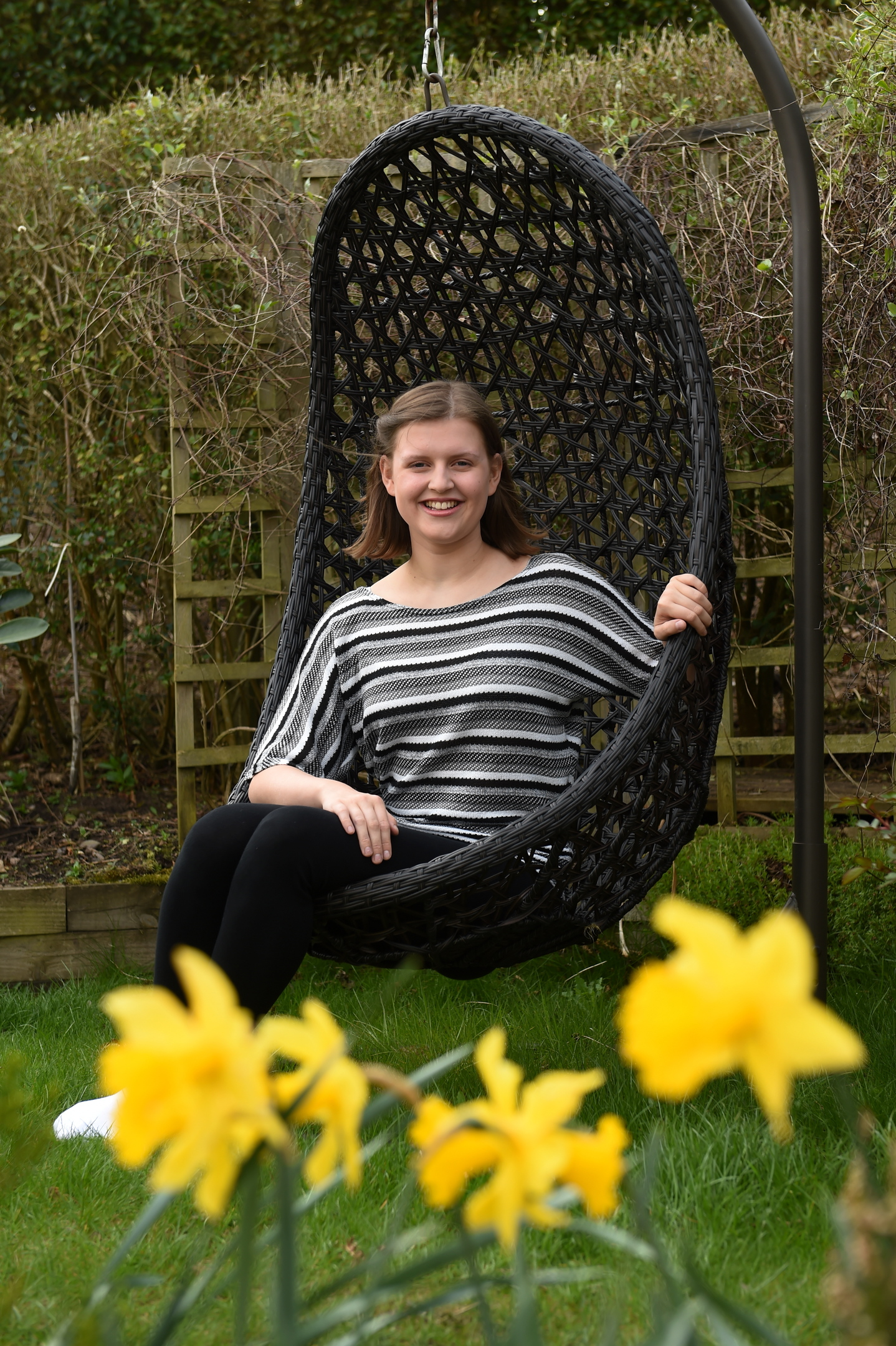 Gemma Banister from Stonehaven, has some severe allergies, but is going to study biology at university and wants to research ways to find a cure for some conditions.  Picture by Kenny Elrick